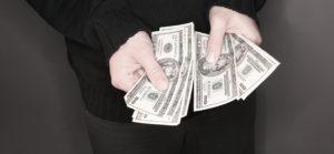 embezzlement money